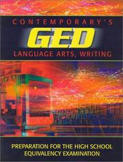 Cover of: Ged Language Arts Writing (Contemporary's GED Satellite Series)