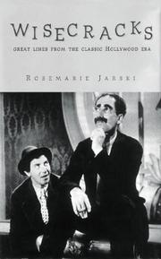 Cover of: Wisecracks  | Rosemarie Jarski