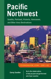 Econoguide Pacific Northwest 2001-02