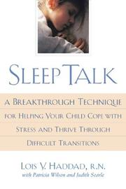 Cover of: Sleep talk