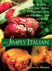 Cover of: Simply Italian