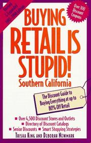 Cover of: Buying retail is stupid! | Trisha King