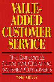 Cover of: Value-Added Customer Service