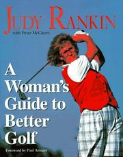 Cover of: A woman's guide to better golf