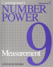 Cover of: Contemporary's Number Power 9 | Connie Eichhorn