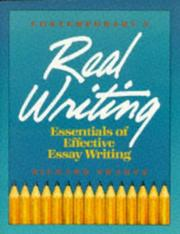 Cover of: Real writing | Richard Swartz