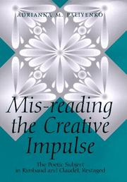 Cover of: Mis-reading the creative impulse