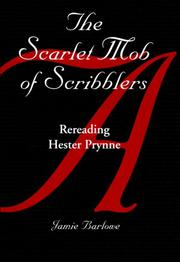 Cover of: The scarlet mob of scribblers