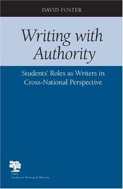 Cover of: Writing with authority | Foster, David