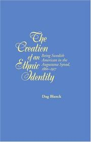 Cover of: The Creation of an Ethnic Identity