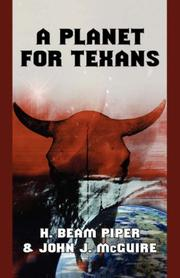 Cover of: A Planet for Texans