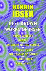 Cover of: The best known works of Ibsen