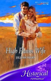 Cover of: High Plains Wife