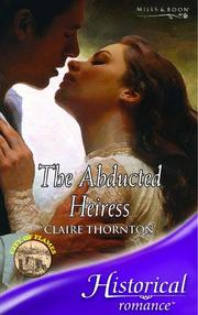 Cover of: The Abducted Heiress