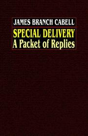 Cover of: Special Delivery a Packet of Replies