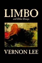 Cover of: Limbo, and other essays: to which is now added, Ariadne in Mantua