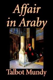 Cover of: Affair In Araby by Talbot Mundy