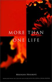 Cover of: More than one life