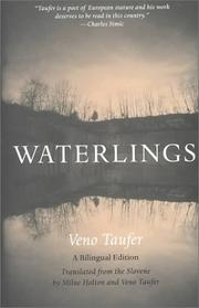Cover of: Waterlings | Veno Taufer