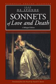 Cover of: Sonnets of love and death