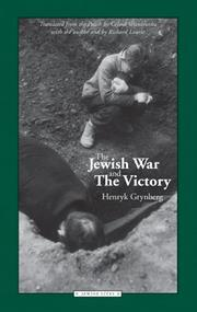 Cover of: The Jewish war and the victory