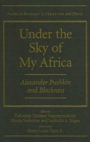 Cover of: Under the sky of my Africa