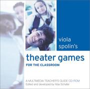 Cover of: Viola Spolin's Theater Games for the Classroom