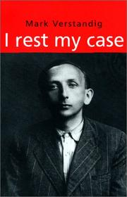 Cover of: I Rest My Case (Jewish Lives)