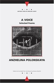Cover of: A Voice | Anzhelina Polonskaya