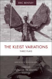 Cover of: The Kleist variations