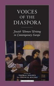 Voices of the Diaspora by Thomas Nolden, Frances Malino