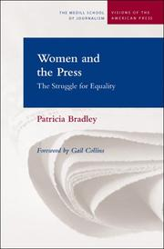 Cover of: Women and the press: the struggle for equality
