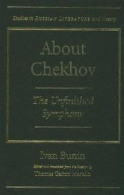 Cover of: About Chekhov | Ivan Bunin