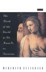Cover of: The birth of the world as we know it, or, Teiresias