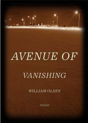 Cover of: Avenue of Vanishing (Triquarterly) | William Olsen