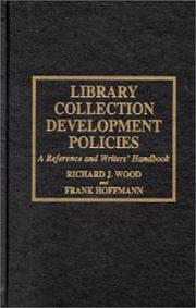 Cover of: Library collection development policies