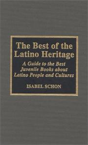 Cover of: The best of the Latino heritage