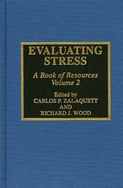 Cover of: Evaluating Stress