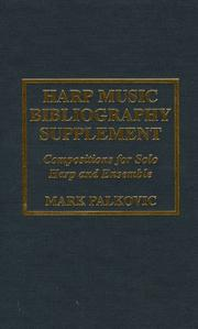 Harp music bibliography supplement