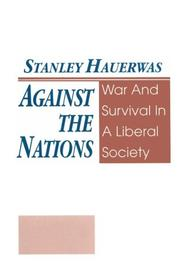 Cover of: Against the nations
