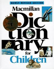 Cover of: MACMILLAN DICTIONARY FOR CHILDREN, REVISED (Macmillan Dictionary for Children) | Levey