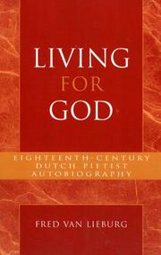 Cover of: Living for God