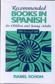 Cover of: Recommended Books in Spanish for Children and Young Adults