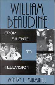 Cover of: William Beaudine | Wendy L. Marshall
