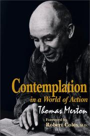 Cover of: Contemplation in a world of action