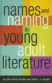 Cover of: Names and Naming in Young Adult Literature (Scarcrow Studies in Young Adult Literature) | Alleen Pace Nilsen