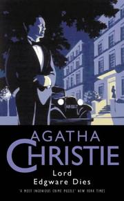 Cover of: Lord Edgware Dies (Agatha Christie Collection S.)