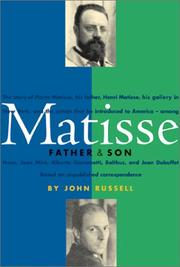 Cover of: Matisse: Father and Son
