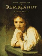 Cover of: Rembrandt