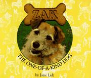 Cover of: Zak, the one-of-a-kind dog